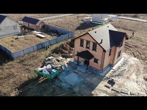 """Строительство двухэтажного дома """"Анжелика"""" Тюмень"""