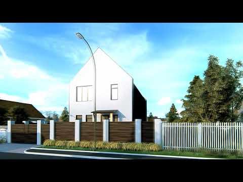 """Проект дома """"Джун"""". Строительство частных домов под ключ Тюмень"""