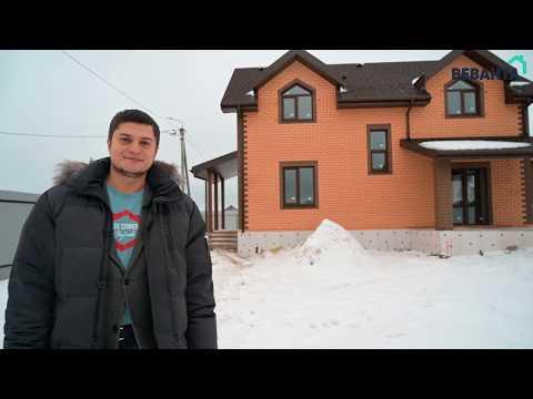 Обзор дома с мансардой 109,8 м2