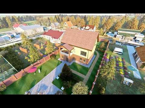 """Проект дома """"Алпысбай"""". Строительство индивидуальных жилых домов под ключ Тюмень"""