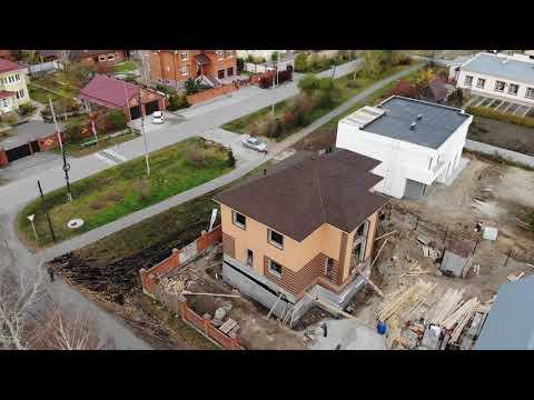 """Строительство дома """"Виктория"""" Тюмень"""