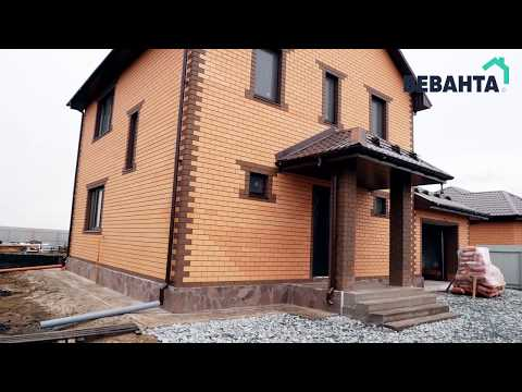 """Проект дома """"Анжелика с гаражом"""". Строительство домов под ключ Тюмень"""