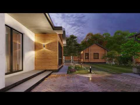 """Проект одноэтажного дома """"Астория"""" площадью 215 м2"""