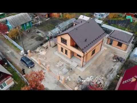 """Проект дома """"Сирень"""". Строительство коттеджей под ключ Тюмень"""