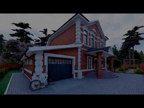 """Проект дома """"Боярская усадьба"""". Строительство коттеджей под ключ Тюмень"""
